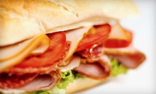 Sandwiches and Salads at New York Deli (Half Off). Two Options Available.