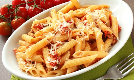 $12 for $20 Worth of Italian Cuisine for Lunch or Dinner at Strings Italian Cafe (40% Off)