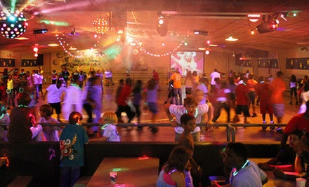 Roller Skating for Two or Four at Funtime Skateland (Up to 57% Off)