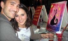 $22 for a Two-Hour Painting Party at a Local Restaurant or Pub ($45 Value)