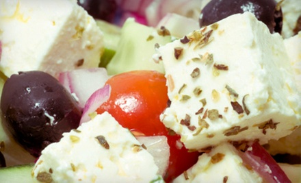 $10 for $20 Worth of Mediterranean Food for Dinner at Pera Mediterranean