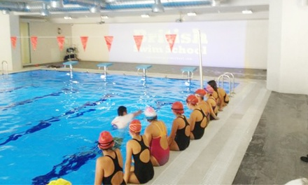 $89 for One Month of Twice Weekly Group Swim Lessons  at British Swim School ($183 Value)