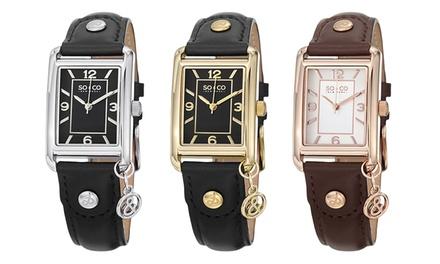 Relógio SO&CO para mulher disponível em três modelos por 42,99€