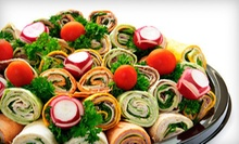 $25 for a Party Tray with Sandwiches or Wraps for 8–10 People at Alice's Deli ($60 Value)