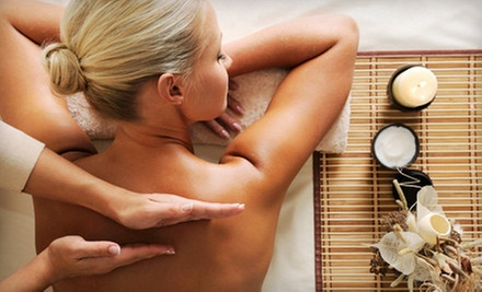 60-Minute Facial, Massage, or Both, or a 60-Minute Massage with a 30-Minute Body Scrub at Ebb and Flow (Up to 57% Off)