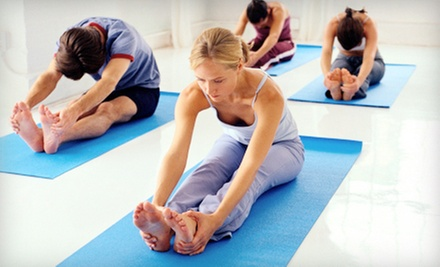 5 or 10 Drop-In Yoga Classes at Ignite Yoga (Up to 58% Off)