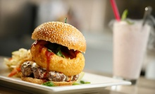 $5 for $10 Worth of Gourmet Burgers and Milk Shakes at HBurgerCo