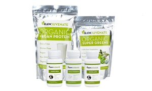Two- Or Four-week Rawjuvenate Complete Organic Detox From Raw Green Organics (up To 57% Off)