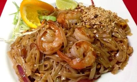 Thai Dinner at Thai Pattaya Restaurant (Up to 45% Off)