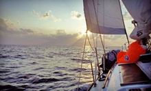 $145 for a Three-Hour Harbor Tour with Lunch for Up to Four from Charleston Sail ($290 Value)