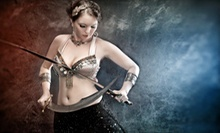 Three or Five Beginner or Intermediate Belly-Dancing Classes at Discordia Arts (Up to 60% Off)