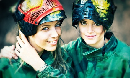 Full-Day Outing for One, Two, or Four at Paintball World Sports Complex (Up to 54% Off)