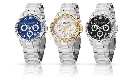 Stuhrling Original Monaco Men's Chronograph Watch