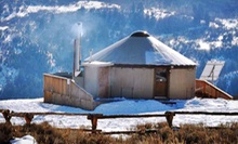 One-Night Stay in Remote Mountain Yurt at Blue Sky Adventures (Up to 55% Off). Two Options Available.