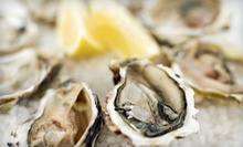 Oysters, Antipasto, and Dessert for Two or Four at Fat Cat Wine Bar (Up to 61% Off)
