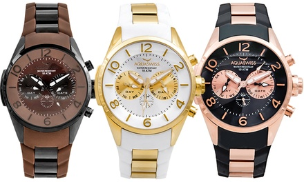 Aquaswiss Swiss-Made Trax 5H Watches for Men and Women