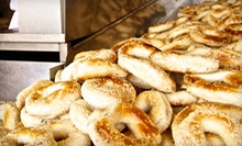 12 Bagels with Cream Cheese, Two Bagels with Coffees, or $30 for $60 Worth of Catering at Kettleman's Bagel Co.