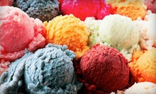 $17 for Seven Groupons, Each Good for $5 Worth of Ice Cream at Frozen In Time Ice Cream Parlour ($35 Value)