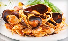 Italian Cuisine and Drinks at Rocky's Italian Cuisine and Steak House (Half Off). Two Options Available.