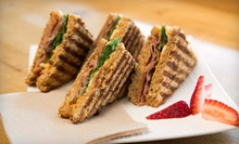 Breakfast or Lunch for Two or Four with Sandwiches or Wraps and Coffee at The Brimm Cafe (Up to 61% Off)