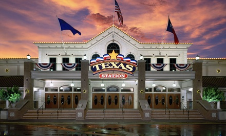 Stay at Texas Station in North Las Vegas, NV. Dates into April.