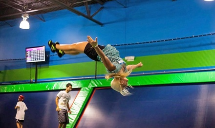 Two or Four One-Hour Jump Passes or Birthday Party at Rebounderz Apopka (46% Off)