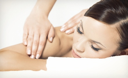 Swedish or Deep-Tissue Massage or a Seasonal Signature Massage Package at True Serenity Massage (Up to 54% Off)