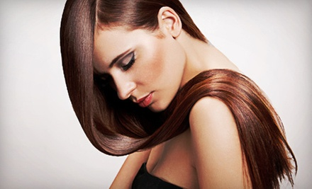 $59 for a Haircut, Style, and Triple-Shine Diamond Gloss from Lorali at Studio 7 ($120 Value)
