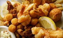 Seafood or Steak Dinner with Appetizers for Two or Four at Lighthouse Restaurant (Up to 61% Off)