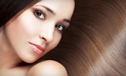 Hair-Smoothing Treatment and Optional Women's Haircut at Epiphany Salon and Gallery (Up to 62% Off)