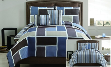 Morgan 7-Piece Reversible Quilt Set