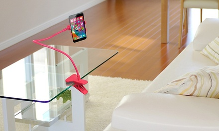 Suporte universal flexível para smartphone disponível em diferentes cores por 14,90€