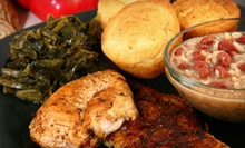 Soul Food at Touch of Soul (Half Off). Two Options Available.