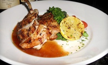 $42 for an Italian Meal for Two at Pellegrino's Restaurant &amp; Lounge (Up to $86 Value). Two Options Available.