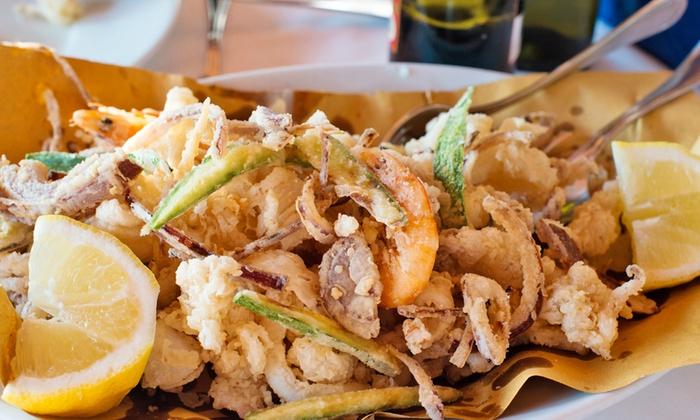 Ristorante Autogrill - Montesilvano (PE): Menu di pesce di 3 portate con fritto misto e vino da 29,95 €