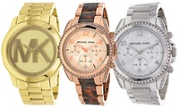 GROUPON: Michael Kors Men's and Women's Fashion Watches Michael Kors Men's and Women's Fashion Watches