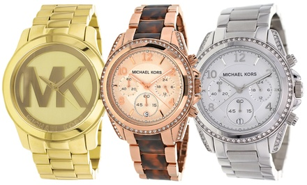 Michael Kors Men's and Women's Fashion Watches from $139.99–$199.99