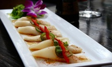 $20 for $40 Worth of Thai Cuisine and Sushi at Deejai Thai Restaurant