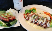 Bistro, Sushi, and International Food for Dinner, Lunch, or Sunday Brunch at 95a Bistro & Sushi (Half Off)