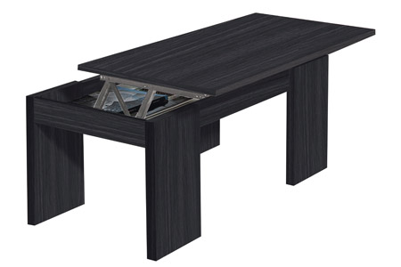 Table basse avec plateau relevable groupon shopping - Table basse plateau montant ...