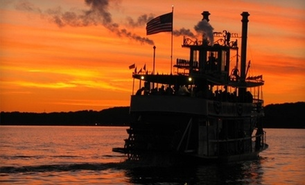 $20 for a 105-Minute Historic or Cocktail Cruise for Two from Chautauqua Belle ($40 Value)