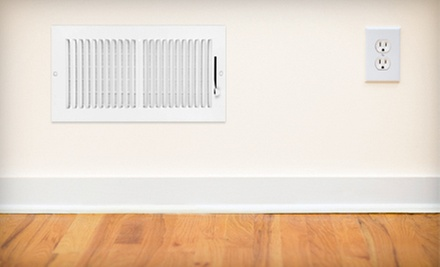 $39 for Vent Cleaning and Dryer-Vent Cleaning and System Inspection from Air Duct Busters ($189.99 Value)
