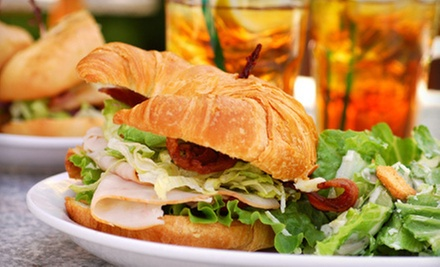 Sandwiches and Coffee for Two or $20 for $40 Worth of Catering at Christophers Cafe 