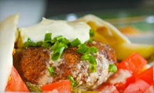Mediterranean Cuisine at Big Daddy's Mediterranean Grill (Half Off). Two Options Available.