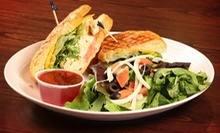 Caf Food for Breakfast, Lunch, or Dinner at Mara's Cafe &amp; Bakery (Up to 53% Off). Two Options Available.