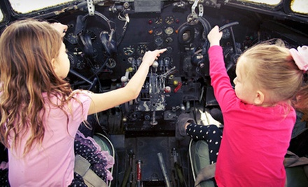 Aerospace Museum of California Visit for Two or Four or a Family Membership (Up to 54% Off)