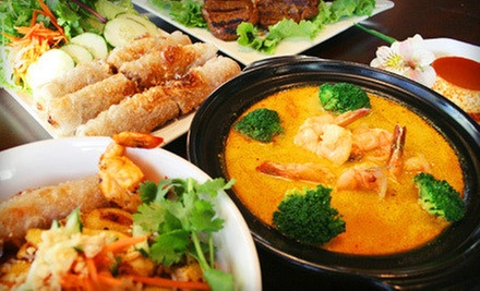 $10 for $20 Worth of Vietnamese Fare and Drinks at Saigon Landing Restaurant