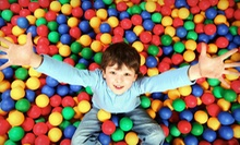 5 or 10 Drop-In Indoor-Playground Sessions at Kidnetix Edu-Play Centre (Up to 56% Off)