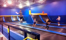 Two One-Hour Visits or Four Two-Hour Visits to Cosmic Jump (Up to Half Off)