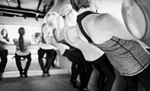 5 or 10 Classes at Pure Barre (Up to 65% Off)